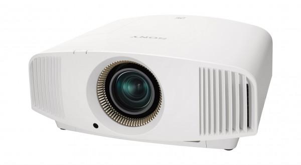 Sony 4K Beamer VPL-VW270ES weiß GROBI.TV Profikalibriert und mit 2 x 3D Brillen