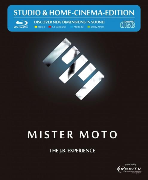 """Coveransicht der PureAudio Blu-ray von Mister Moto """"The J.B. Experience"""""""