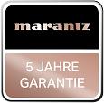 Marantz_Logo_5YearsWarranty_DE