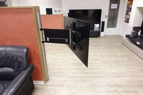 Superflache Schwenkbare Tv Wandhalterung Bis 85 Bildschirmdiagonale