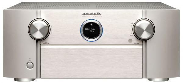Marantz SR 7015 AV Receiver silber mit Booka Shade PureAudio mit Dolby Atmos Spur - B-Ware