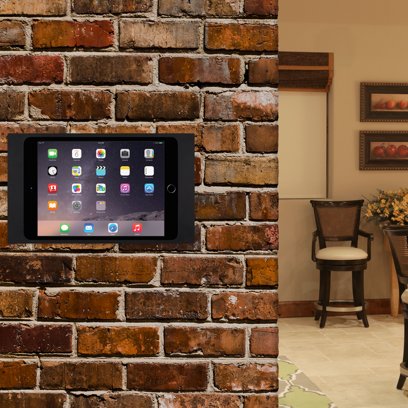 surface mount die elegante m glichkeit das ipad auf nahezu jeder oberfl che zu installieren. Black Bedroom Furniture Sets. Home Design Ideas