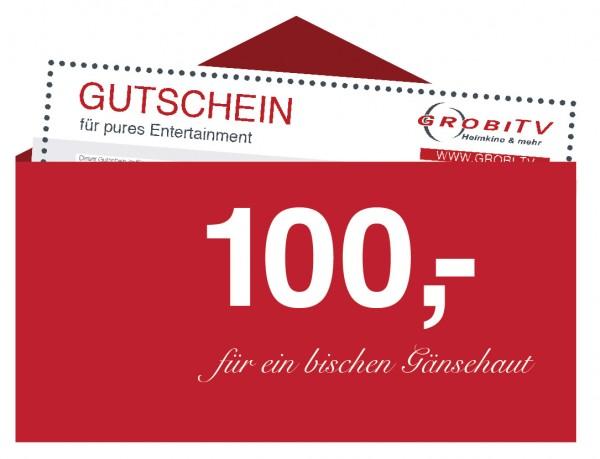 GROBI TV Geschenkgutschein 100