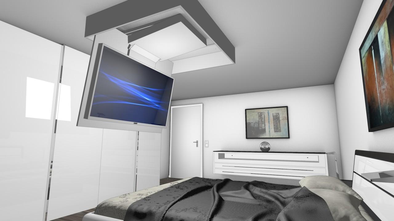 ab an die decke mit ihrem fernseher blog grobi tv. Black Bedroom Furniture Sets. Home Design Ideas