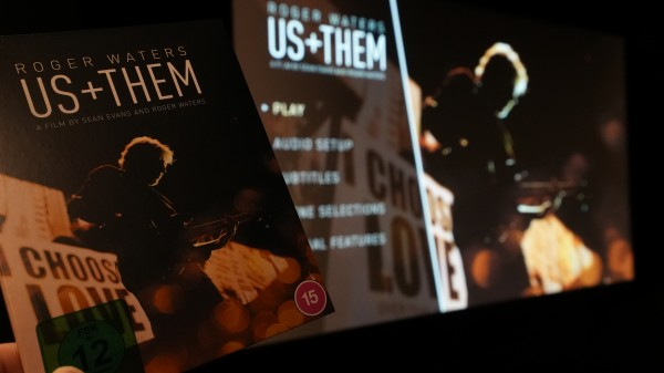 """Roger Waters """"Us + Them"""" - Konzert Blu-ray mit Dolby Atmos Spur"""