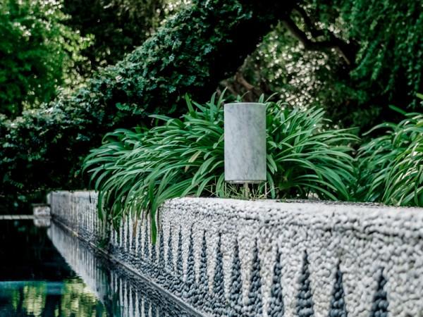 Außenlautsprecher Cylinder Tall Steindesign