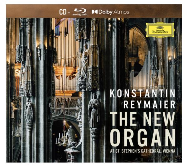 Konstantin Reymaier THE NEW ORGAN at St. Stephen's Cathedral, Vienna - PureAudio mit DolbyAtmos