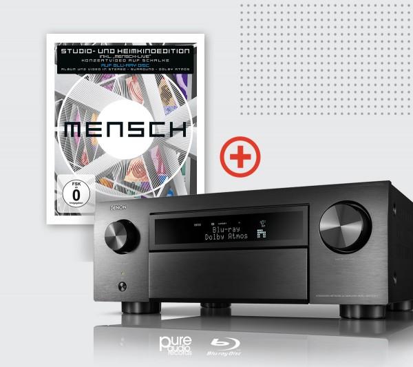 DENON AVC X4700H mit 4 Dali Fazon Sat Lautsprecher und mit BookaShade und Mensch PureAudio