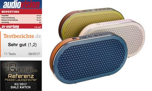 DALI Katch - der mobile Lautsprecher in bester DALI Qualität