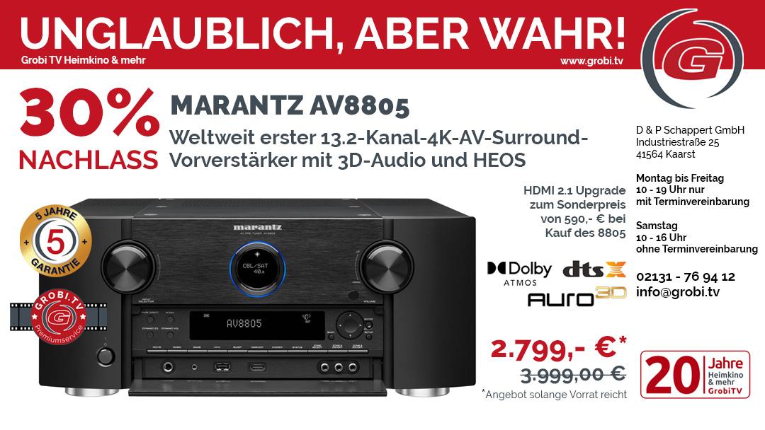 Anbebotsslider Marantz 8805