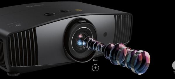 Benq W 5700 4K UHD CinePrime Heimkino Beamer mit 100% DCI-P3 und Rec.709 | GROBI Edition