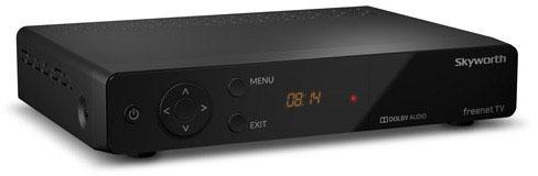 SKYWORTH SKW-T20 DVB-T2 Box mit IRDETO