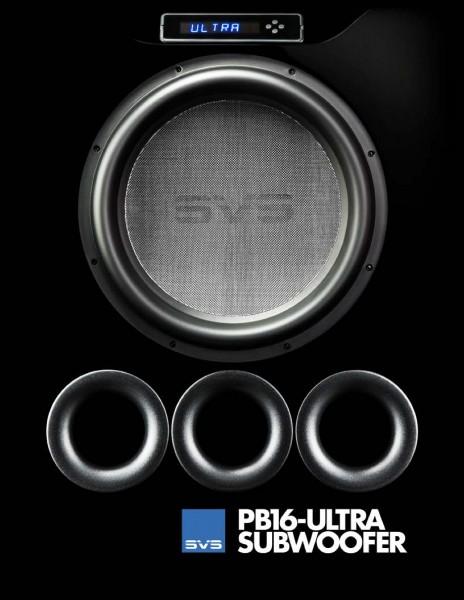 SVS PB 16 Ultra black oak Subwoofer