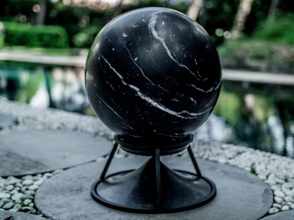 Außenlautsprecher Sphere 360 Kugel Travertin-, Marmordesign