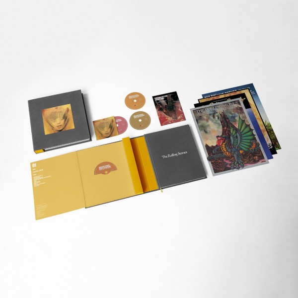 The Rolling Stones Goats Head Soup (Limited CD-Box Super Deluxe Edt.) mit Dolby Atmos Tonspur