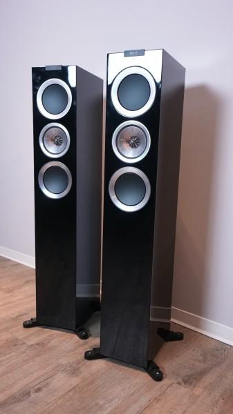 KEF R500 schwarz Aussteller