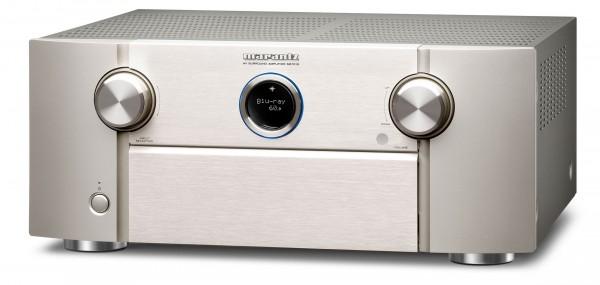 Marantz SR 7015 AV Receiver mit Booka Shade und Mensch PureAudio mit Dolby Atmos Spur