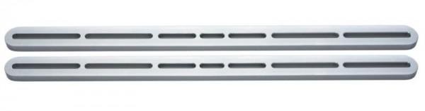 Für Alu Design Deckenhalter - Adapter 390mm - Alu silber