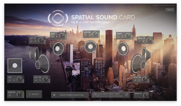 Spatial Sound Card (SSC) Software