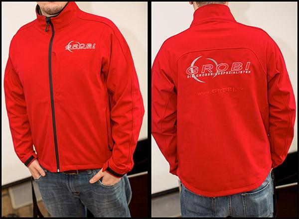 GROBI.TV Softshell Jacket