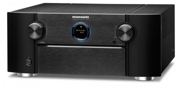 Marantz SR 8015 AV Receiver mit Booka Shade und Mensch PureAudio mit Dolby Atmos Spur