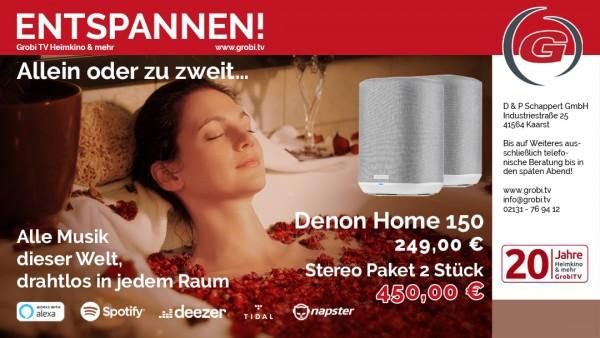 Denon Home 150 Stereo Paket 2 Stück
