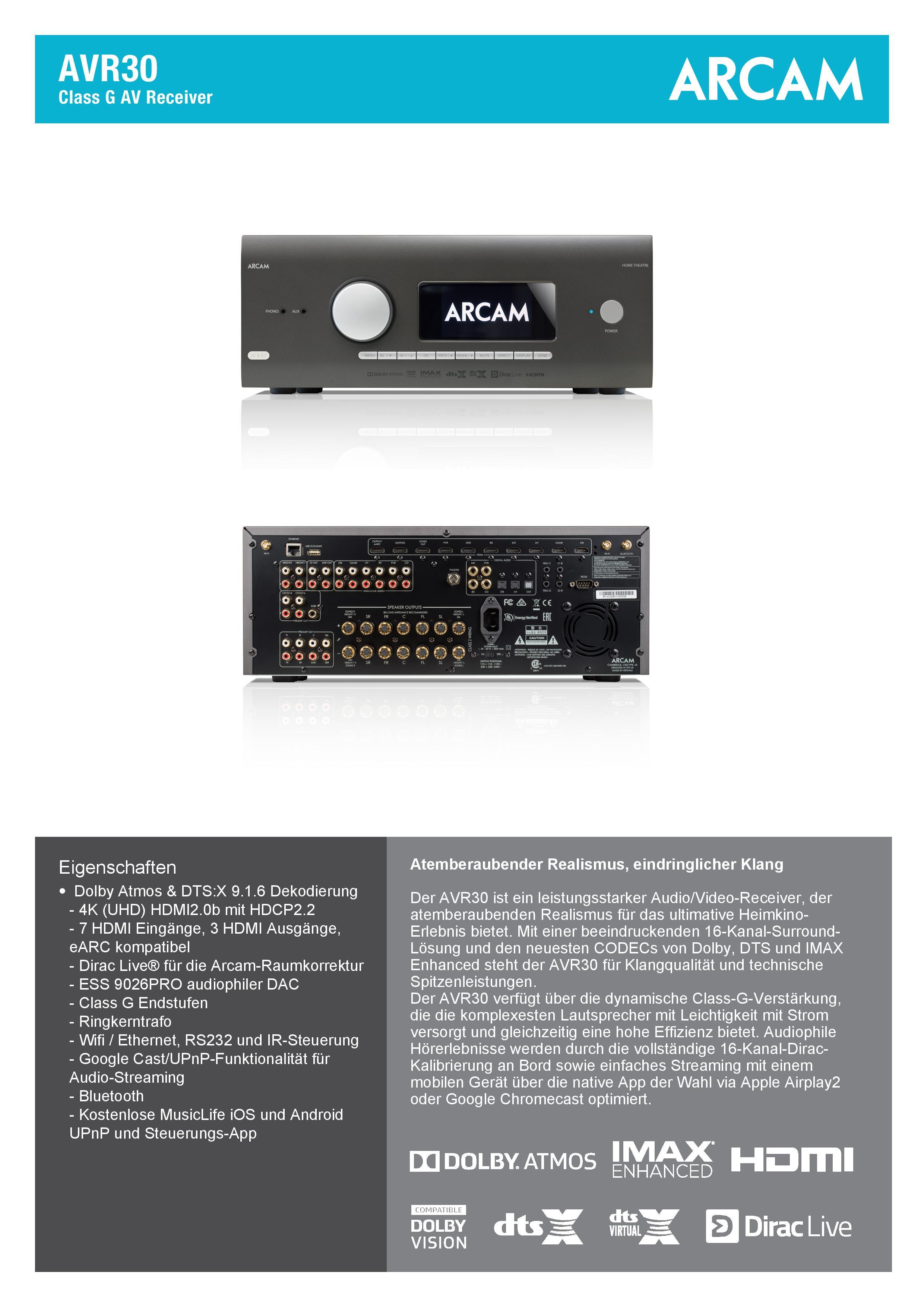 ARCAM-AVR30-Spec_DE-page-001