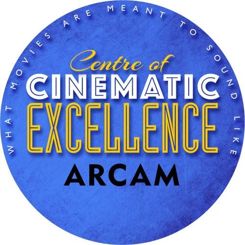 ARCAM zeichnet uns aus - Wir sind CINEMATIC EXCELLENCE Partner