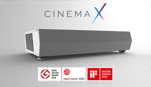 Optoma 4K-Laser-All-in-One-Heimkinoprojektor CinemaX P2