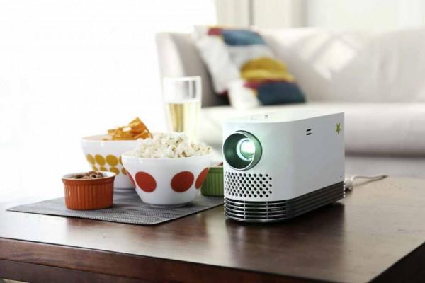 LG Andante (HF80JS) Full HD Laser Beamer - GROBI.TV Edition