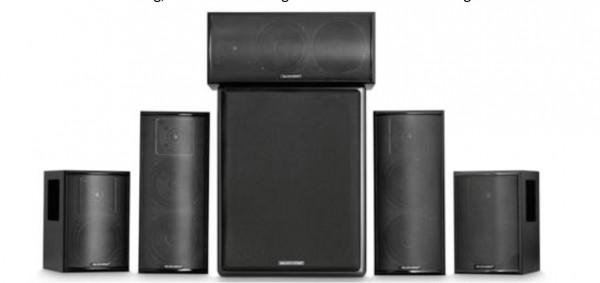 M&K 750 series THX Homecinema 5.1 Soundpaket Ausführung schwarz
