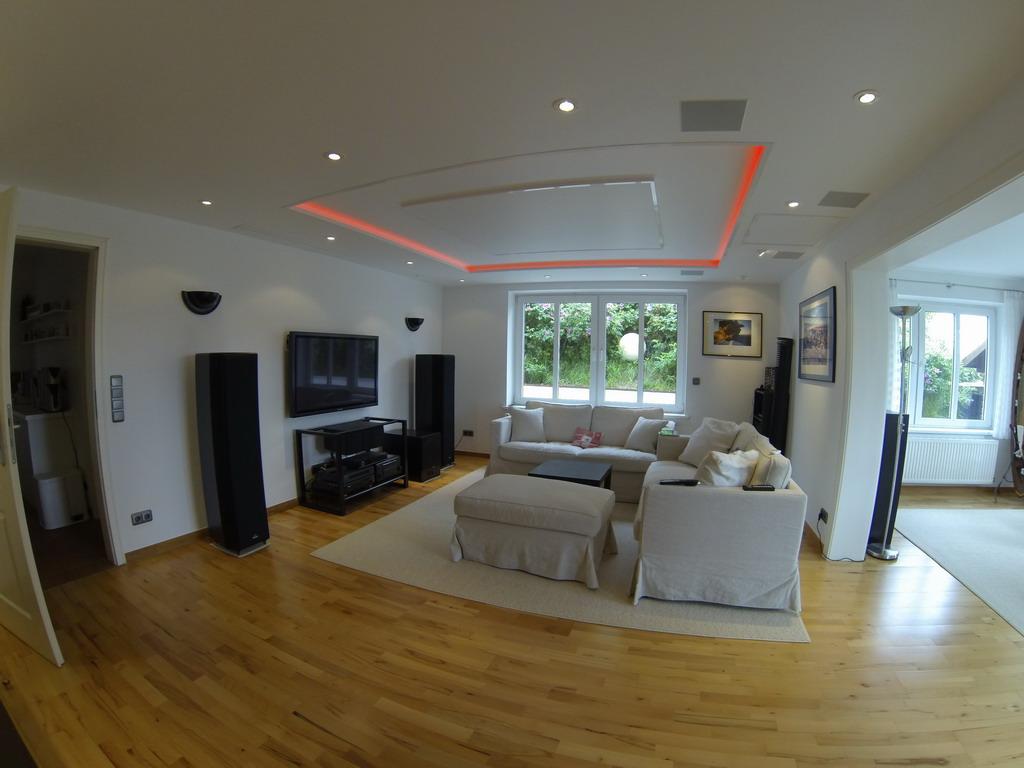 wieder fotos von einer schönen heimkinolösung im wohnzimmer | blog